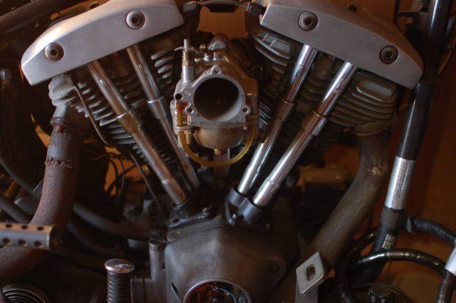 77y FLH カスタムベース 4速フレーム